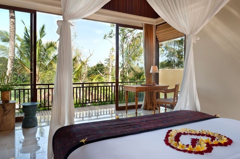 Komaneka at Tanggayuda, Ubud, Bali, Indonésie, chambre