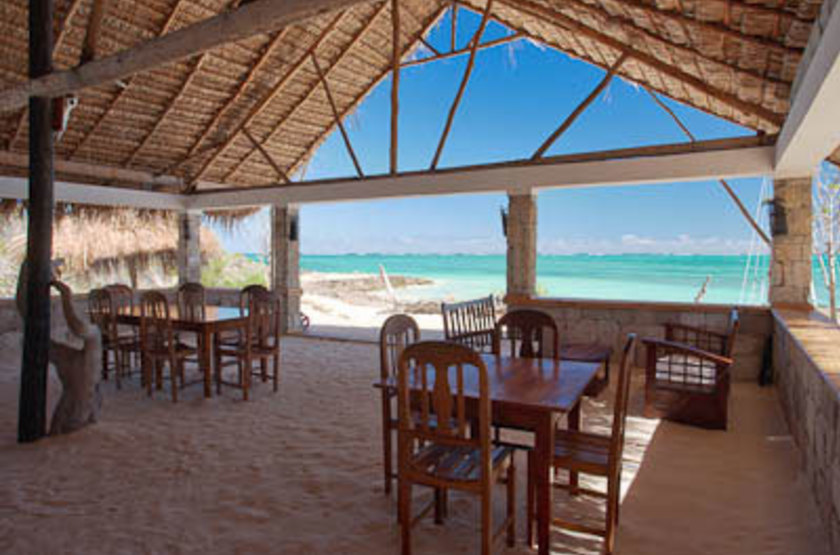 Ankasy Lodge & Spa, lagon d'Ambatomilo, Madagascar, restaurant