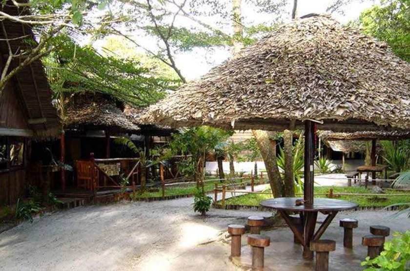 Palmarium Hotel Ankanin'Nofy, Madagascar, terrasse