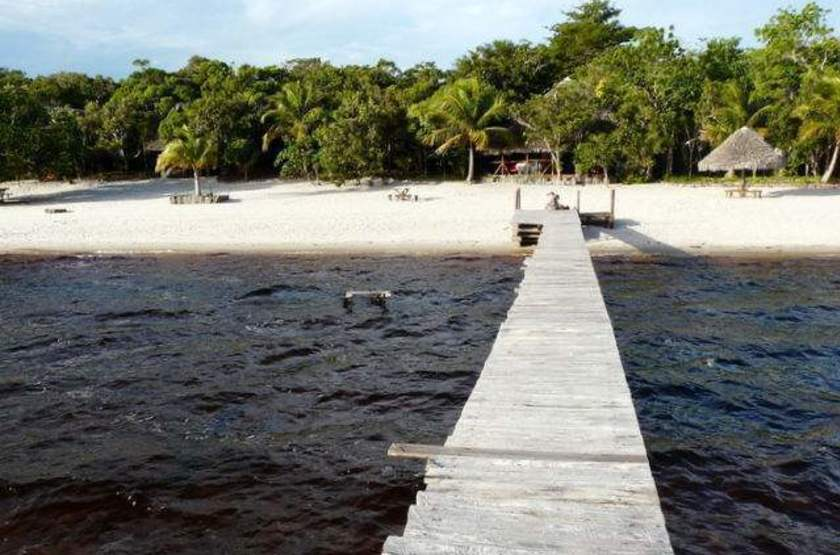 Palmarium Hotel Ankanin'Nofy, Madagascar, plage