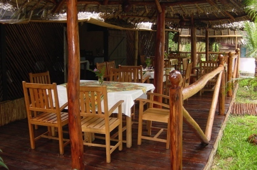 Palmarium Hotel Ankanin'Nofy, Madagascar, restaurant
