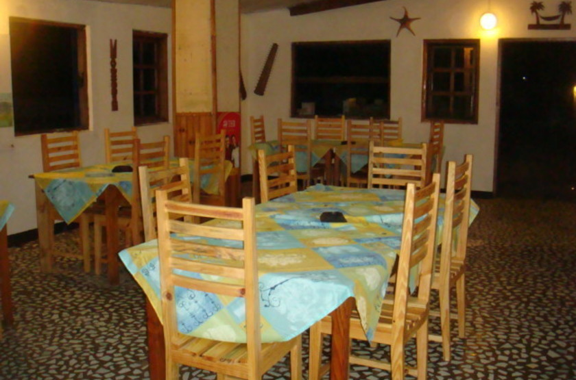 Parthenay Club Manakara, Madagascar, restaurant