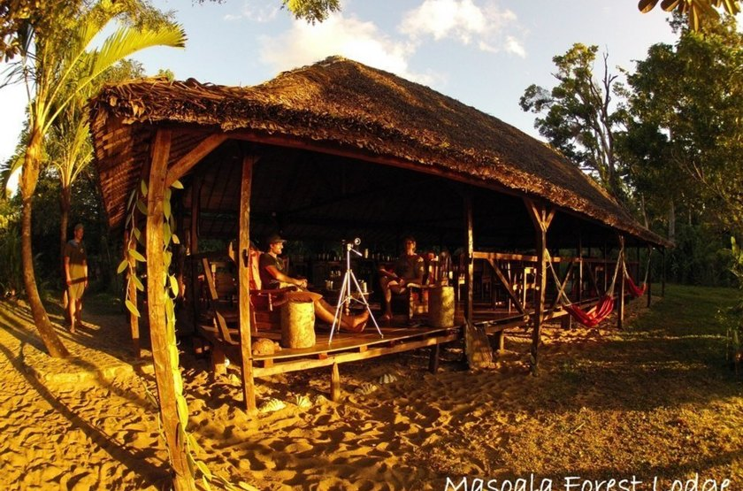 Masaola Forest Lodge, Parc National Masaola, Madagascar, bar