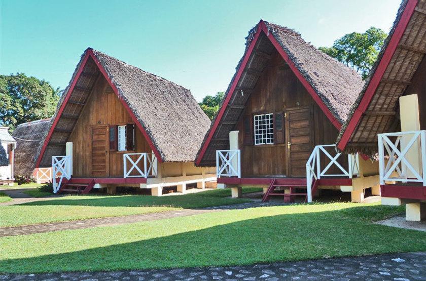 Las Palmas, Sambava, Madagascar, bungalows
