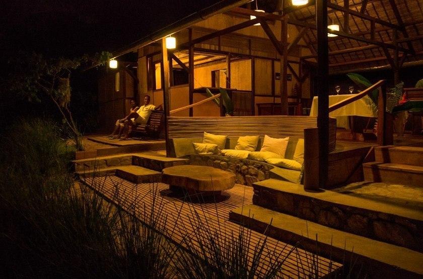 Ankavana Lodge, Antahala, Madagascar, restaurant