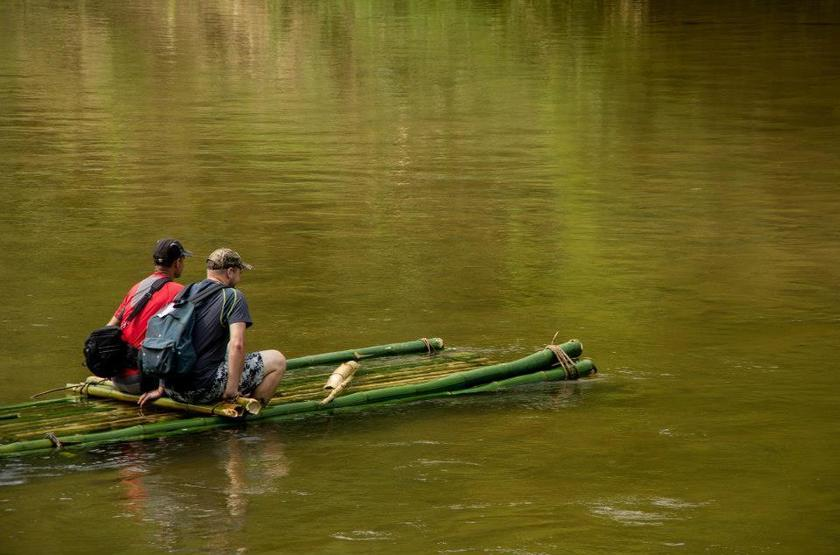 Ankavana lodge bamboo raft 2 slideshow