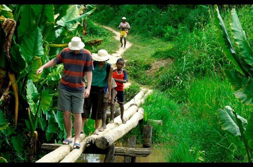 Ankavana Lodge, Antahala, Madagascar, randonnée