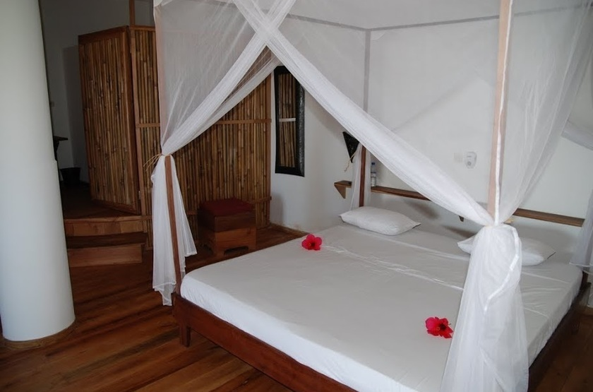 The Nosy Lodge - Nosy Be, Baie d'Ambondrona, Madagascar, chambre