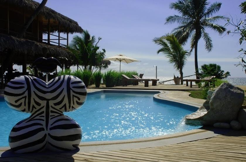 The Nosy Lodge - Nosy Be, Baie d'Ambondrona, Madagascar, piscine