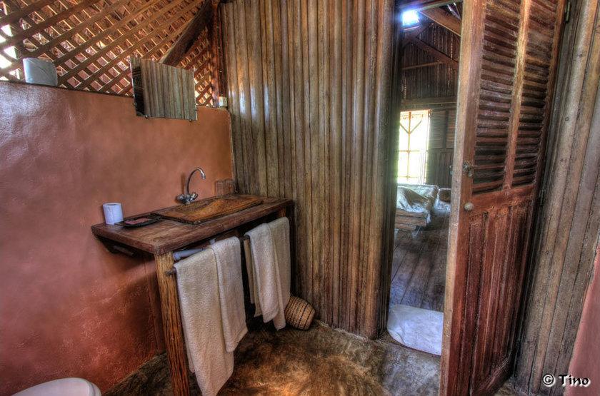 Nosy Be Lodge, Nosy Be Island, Madagascar, salle de bains
