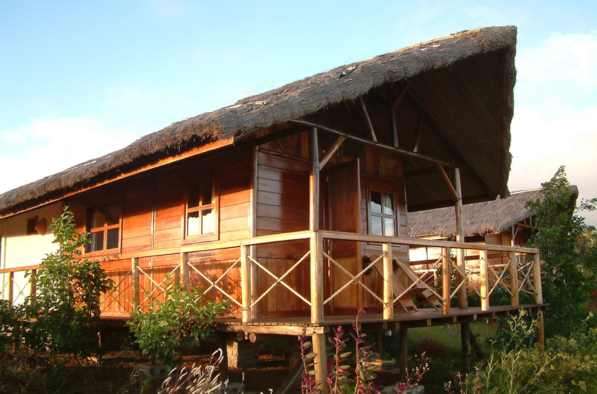 Nature Lodge, Joffreville, Madagascar, bungalow