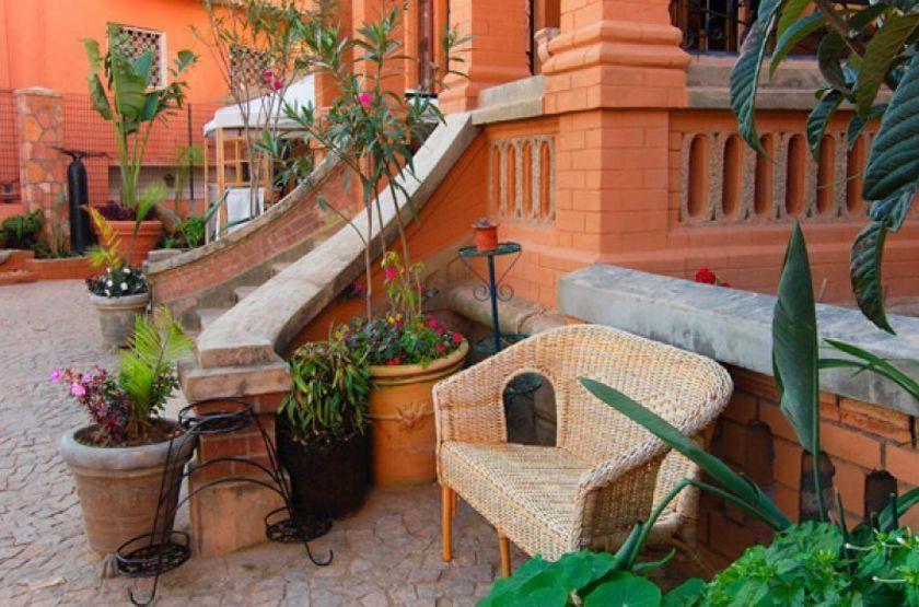 Pavillon de l'Emyre, Antananarivo, Madagascar, entrée