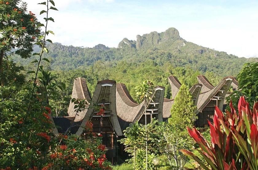Toraja Heritage Rantepao, Sulawesi, Indonésie, vue d'ensemble
