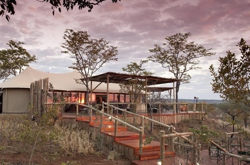 Elephant Camp, Victoria Falls, Zimbabwe, extérieur