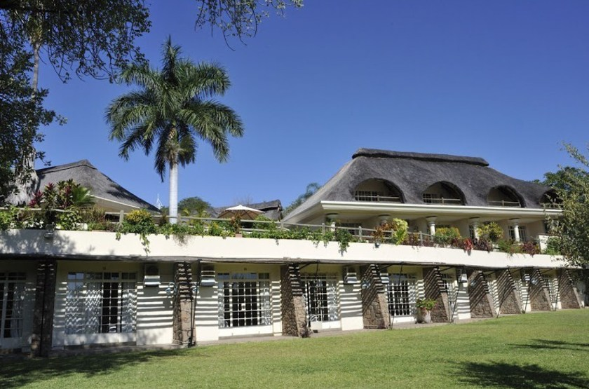 Ilala Lodge, Victoria Falls, Zimbabwe, extérieur