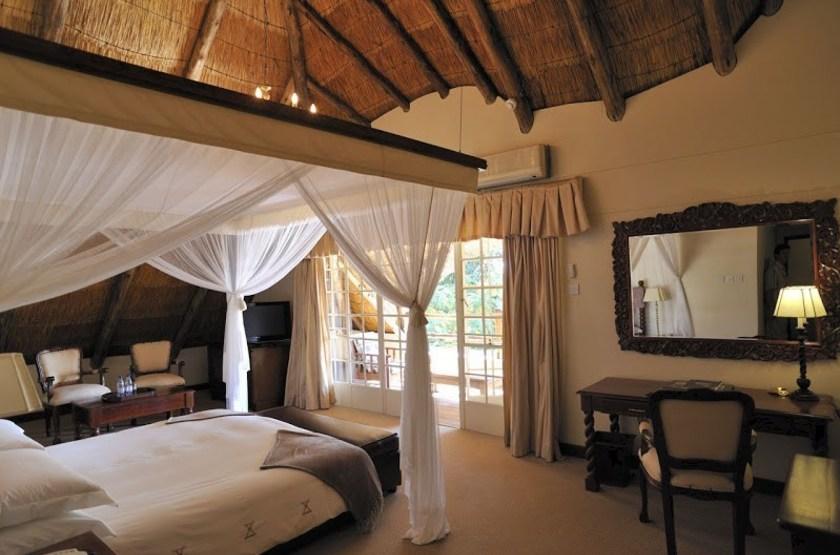 Ilala Lodge, Victoria Falls, Zimbabwe, chambre