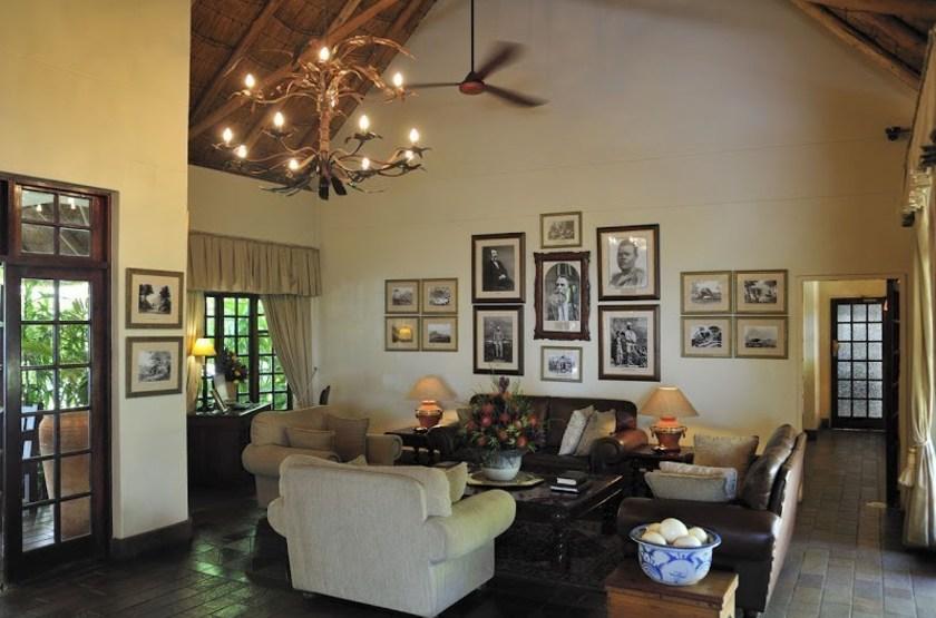 Ilala Lodge, Victoria Falls, Zimbabwe, salon