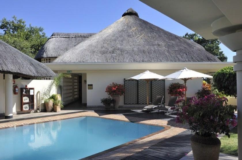 Ilala Lodge, Victoria Falls, Zimbabwe, piscine