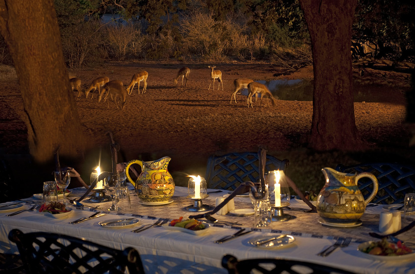 Imbabala dinner impala slideshow
