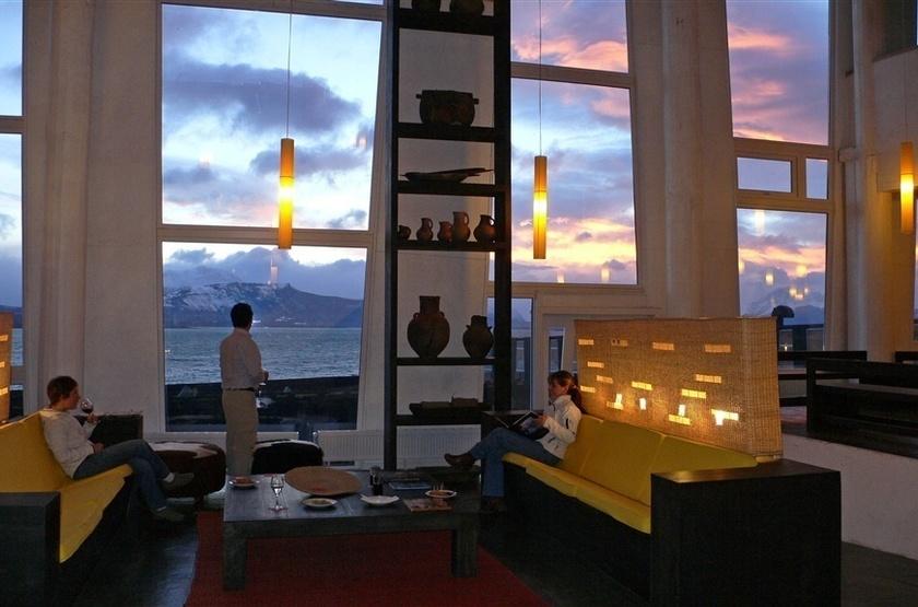 Remota Lodge, Puerto Natales, Chili, salon