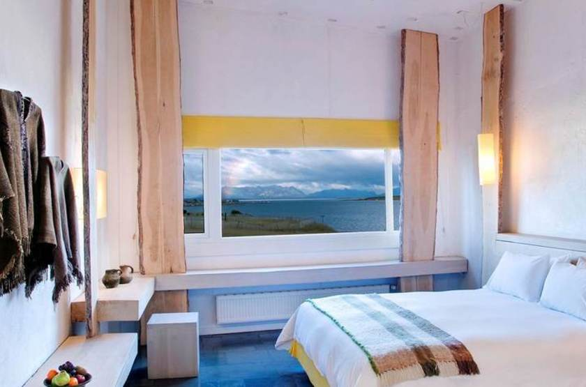 Remota Lodge, Puerto Natales, Chili, chambre