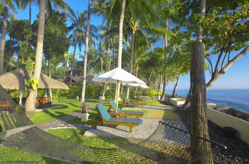 Alam Anda Ocean Front Resort & Spa, Bali, jardins