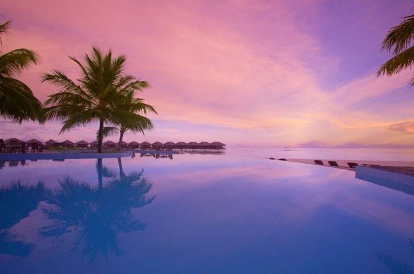 Filitheyo Island Resort, Maldives, piscine
