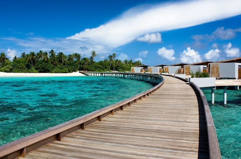 Aqua villas jetty slideshow