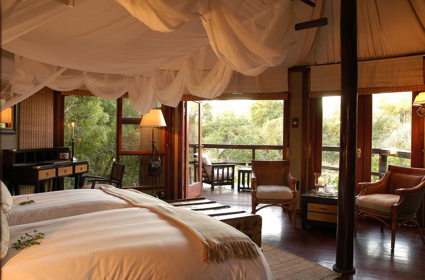 Hamiltons Tented Camp, Mluwati, Afrique du Sud, chalet