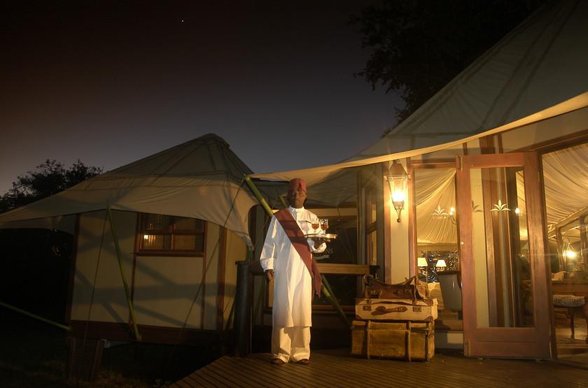 Hamiltons Tented Camp, Mluwati, Afrique du Sud, extérieur
