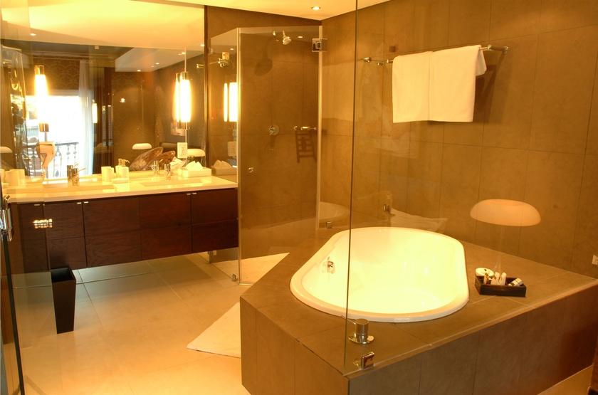 Cape Milner, Cape Town, Afrique du Sud, salle de bains