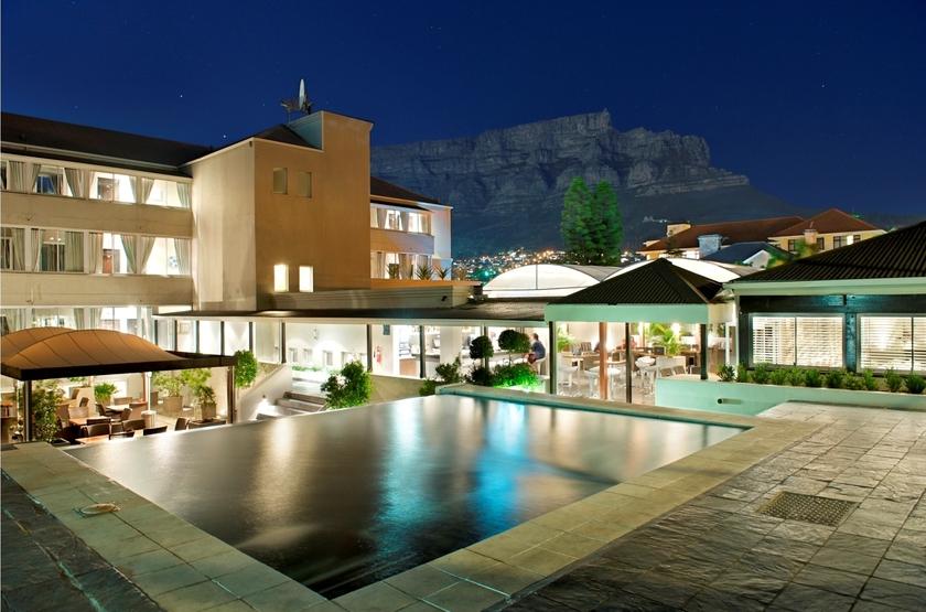 Cape Milner, Cape Town, Afrique du Sud, piscine