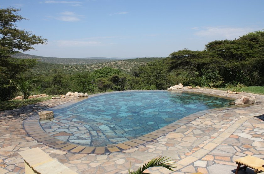 Cottar's 1920, Sud Masai Mara, Kenya, piscine