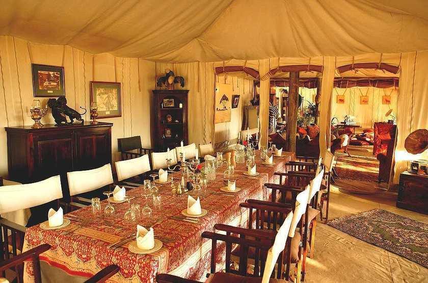 Cottar's 1920, Sud Masai Mara, Kenya, restaurant