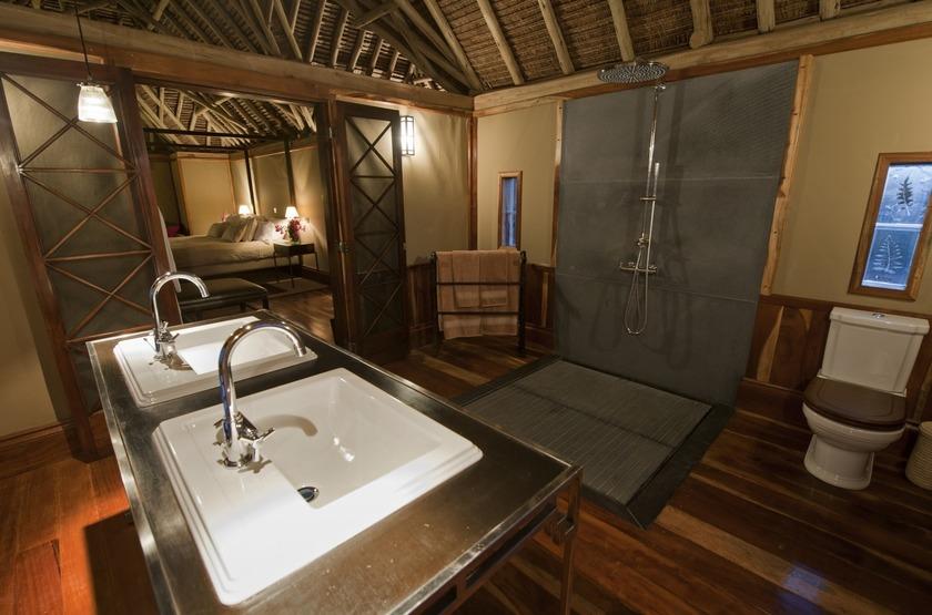 Segera Retreat, Laikipia, Kenya, salle de bains