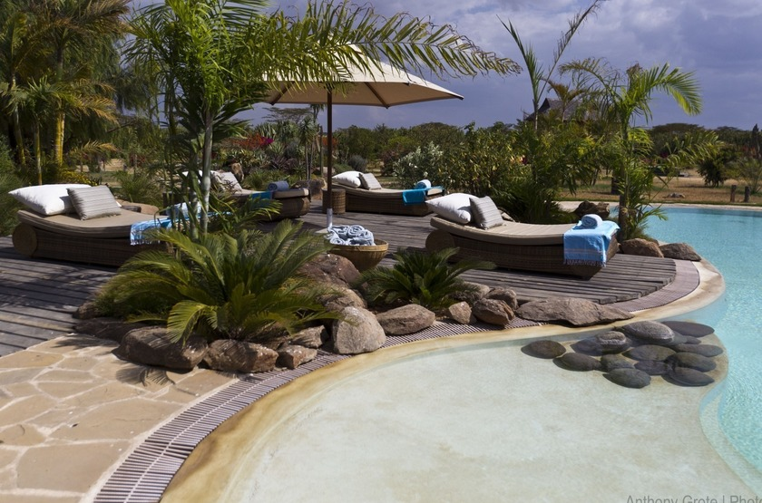 Segera Retreat, Laikipia, Kenya, piscine