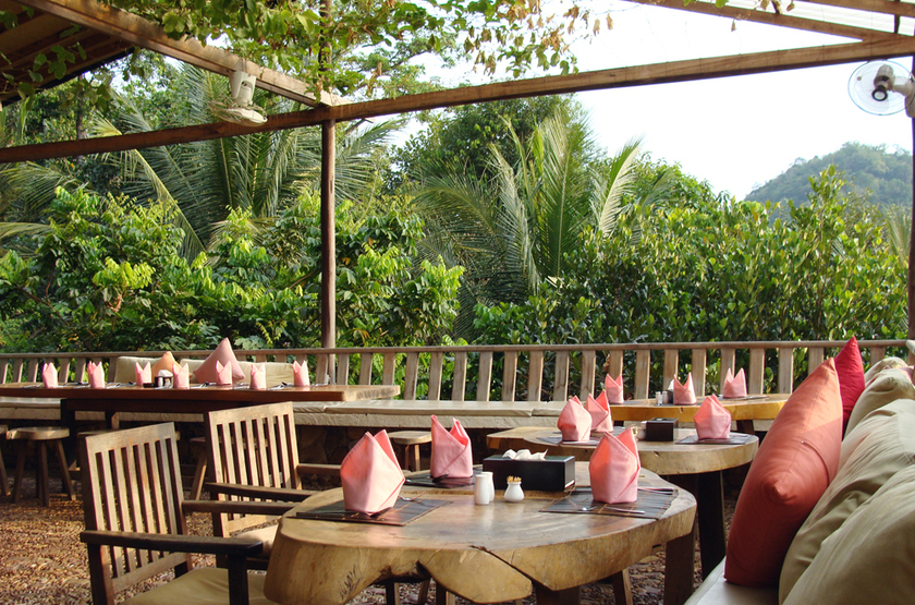 Veranda Natural Resort, Cambodge, restaurant