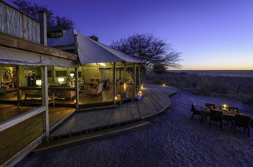 Kalahari Plains Camp, Botswana, extérieur
