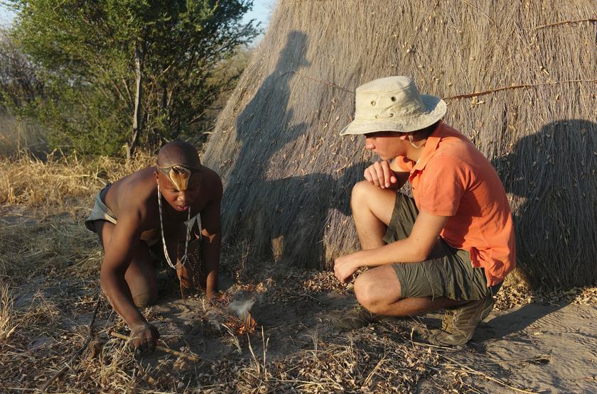 Kalahari Plains Camp, Botswana, partage