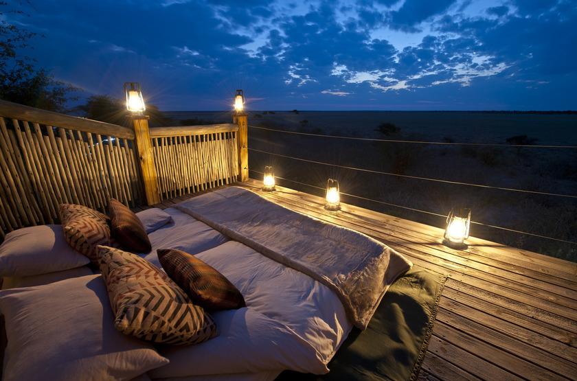 Kalahari Plains Camp, Botswana, sous les étoiles