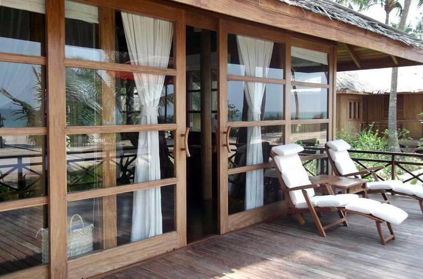 Amara Ocean Resort, Ngapali, Birmanie, terrasse