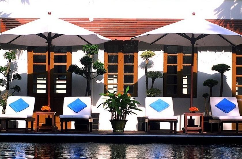 Savoy Yangon, Birmanie, piscine