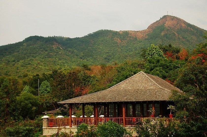 Popa Mountain Resort, Popa, Birmanie, restaurant