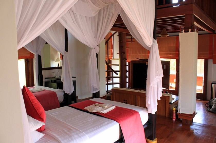 Pristine Lotus Resort, Lac Inle, Birmanie, chambre