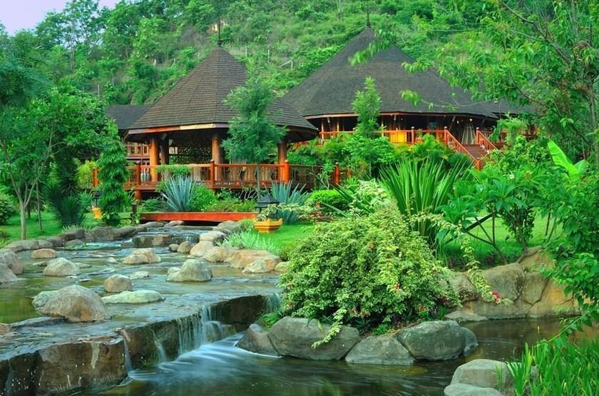 Pristine Lotus Resort, Lac Inle, Birmanie, extérieur