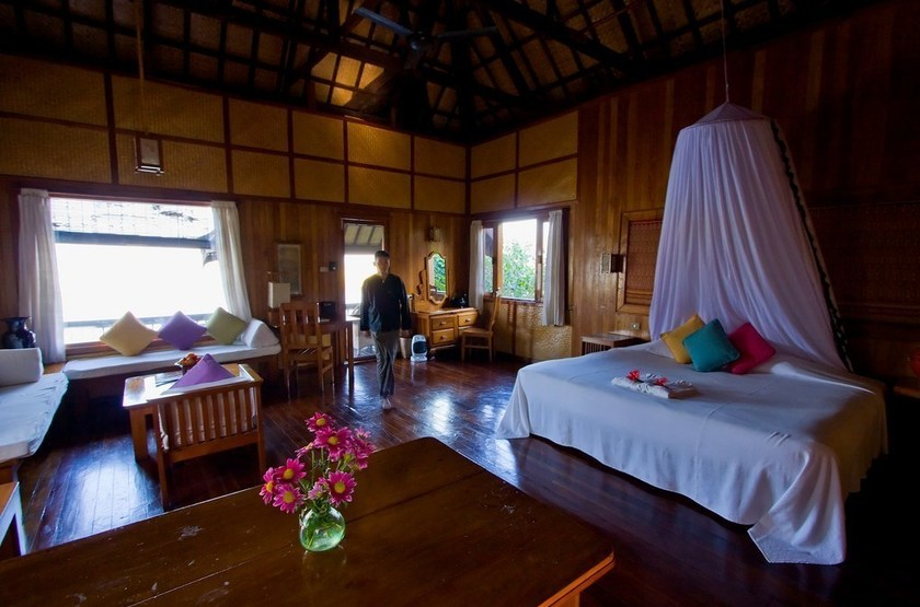 Inle Princess Resort, Lac Inle, Birmanie, chambre