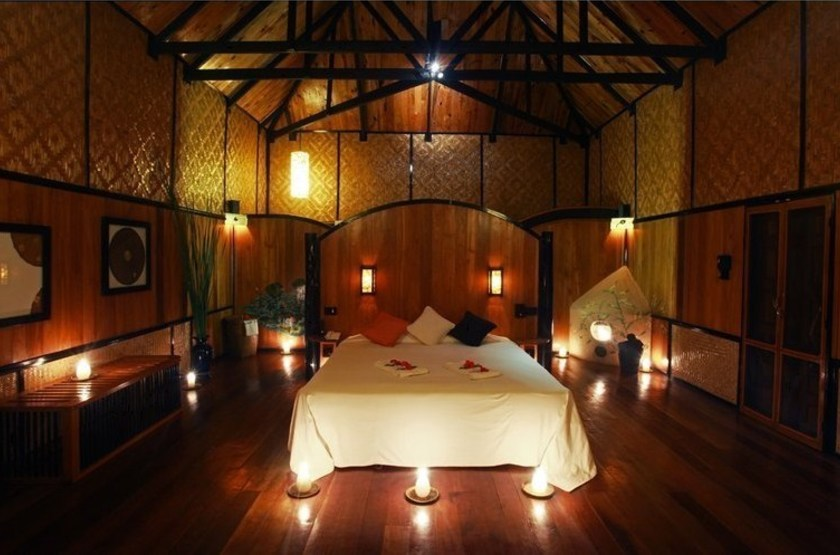 Inle princess resort   lac inle   chambre standard 2 slideshow