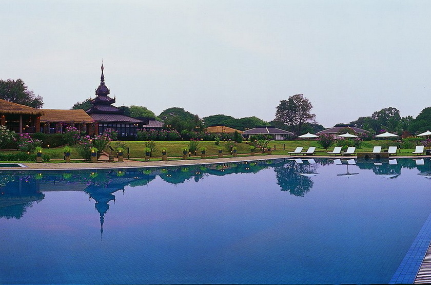Bagan Thiripyitsaya Sanctuary Resort, Birmanie, piscine