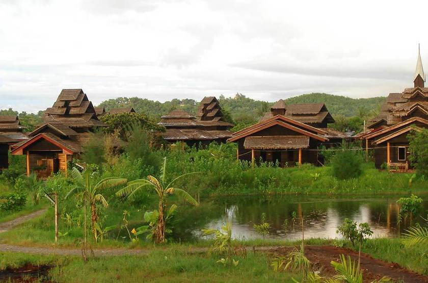 Mrauk U Princess Resort, Birmanie, villa