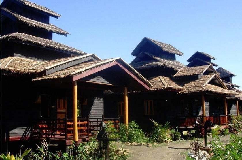 Mrauk U Princess Resort, Birmanie, chalets